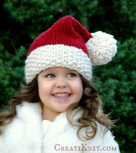 Fresh Crochet Christmas Hats Pattern Ideas Lots Free Patterns Santa Hat Pattern Of Awesome This Chunky Knit Santa Hat Will Be the Coziest Thing You Santa Hat Pattern