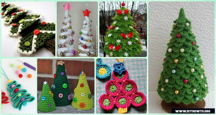 Fresh Crochet Christmas Tree Free Patterns for Holiday Decoration Crochet Christmas Trees Of Marvelous 46 Ideas Crochet Christmas Trees