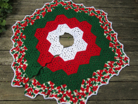 Fresh Crochet Christmas Tree Skirts – Happy Holidays Crochet Tree Skirt Of Innovative 45 Ideas Crochet Tree Skirt