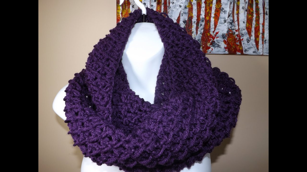 Fresh Crochet Circle or Infinity Scarf with Ruby Stedman Crochet Shawl Youtube Of Charming 43 Ideas Crochet Shawl Youtube