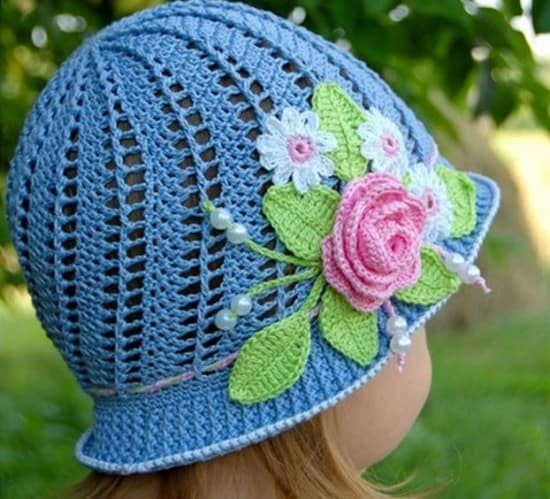 Fresh Crochet Cloche Hats the Best Free Collection toddler Crochet Hat Pattern with Flower Of Luxury 50 Ideas toddler Crochet Hat Pattern with Flower