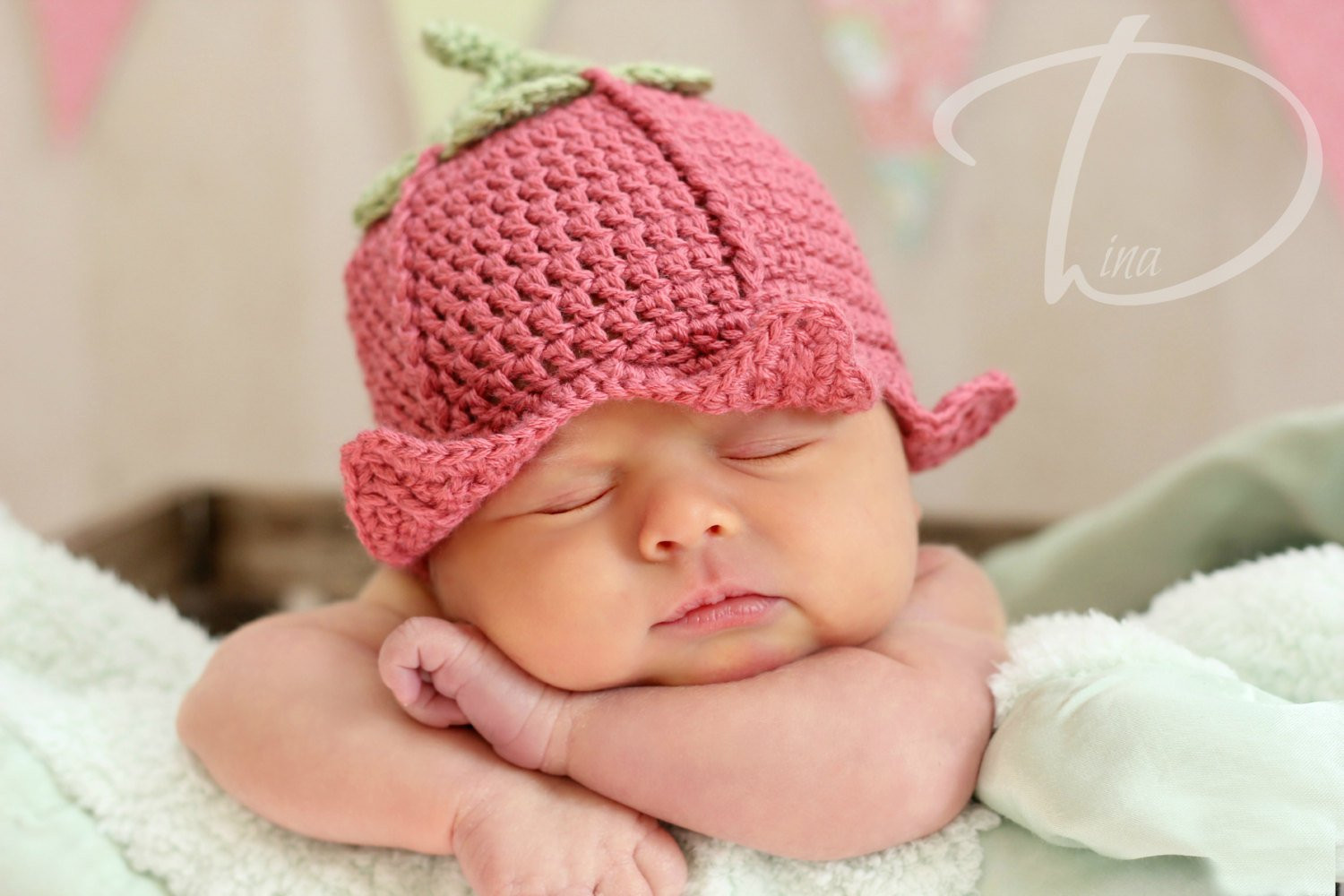 Fresh Crochet Flower Fairy Hat Prop Instant Download Pdf From Crochet Flower for Baby Hat Of Beautiful 42 Ideas Crochet Flower for Baby Hat