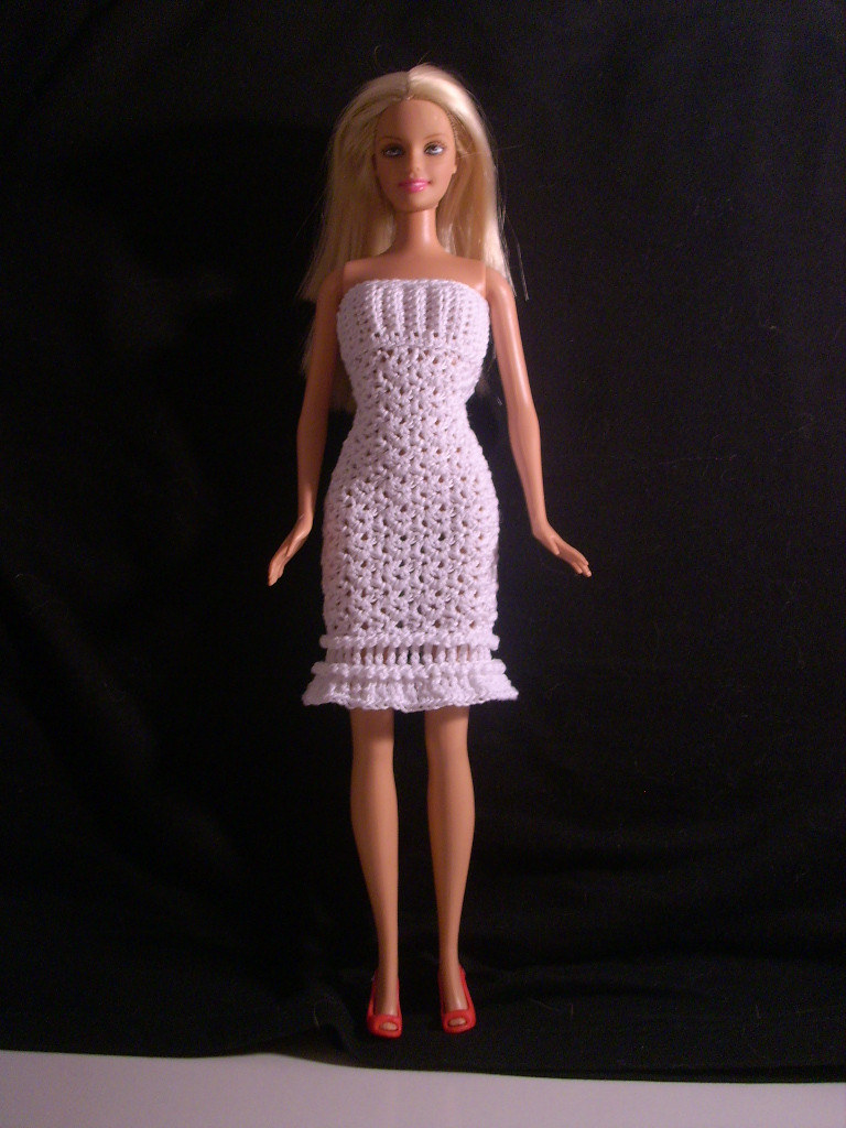 """Fresh Crochet for Barbie the Belly button Body Type """"winter Crochet Barbie Clothes Of Marvelous 46 Photos Crochet Barbie Clothes"""