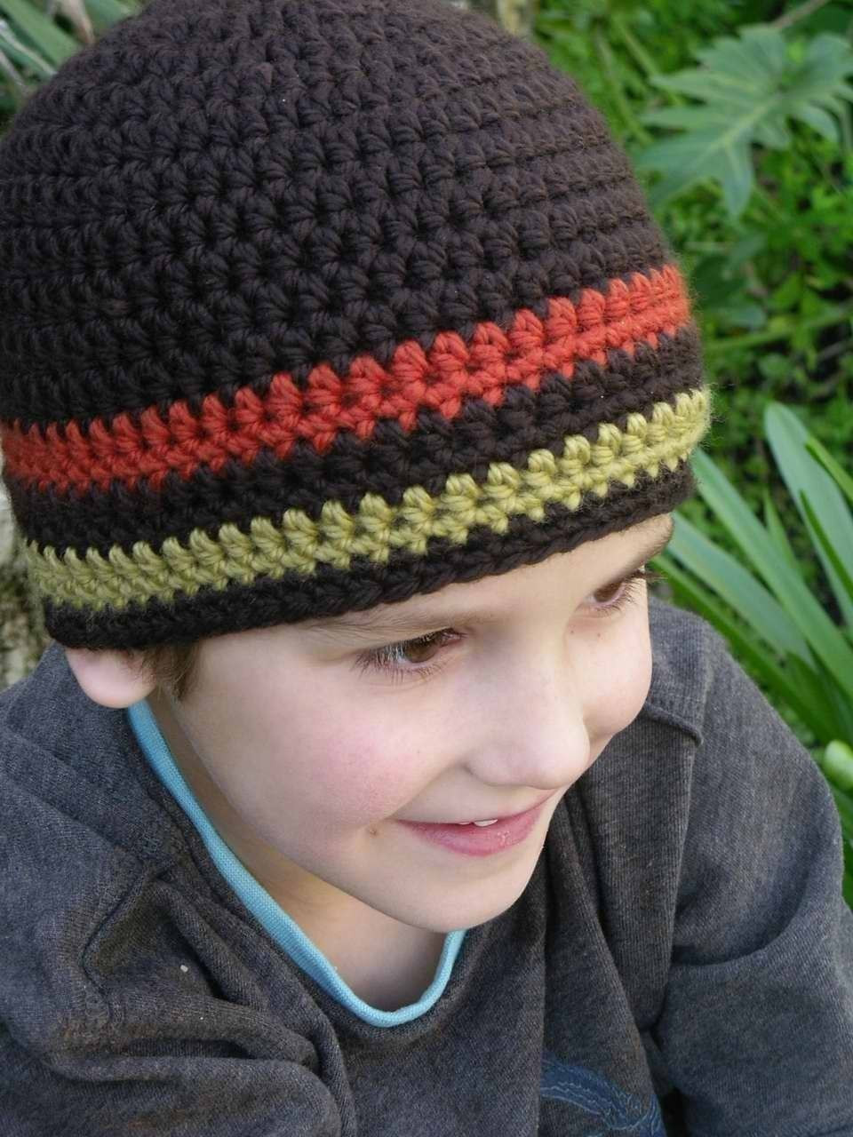 Fresh Crochet Hat Pattern Boys Easy Peasy Chunky Beanie Crochet Free Crochet Hat Patterns for Boys Of Fresh 46 Photos Free Crochet Hat Patterns for Boys