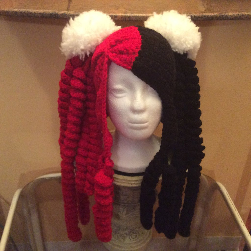 Fresh Crochet Hat with Pom Poms and Curls by Cro Knitcreations Crochet Pom Pom Hat Of Perfect 50 Pictures Crochet Pom Pom Hat