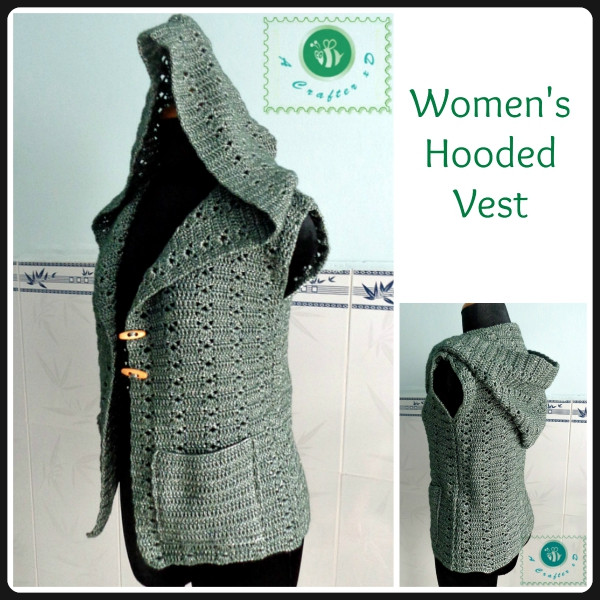 Fresh Crochet Hooded Vest Crochet Hooded Vest Free Pattern Womens Crochet Vest Of Amazing 47 Pics Womens Crochet Vest