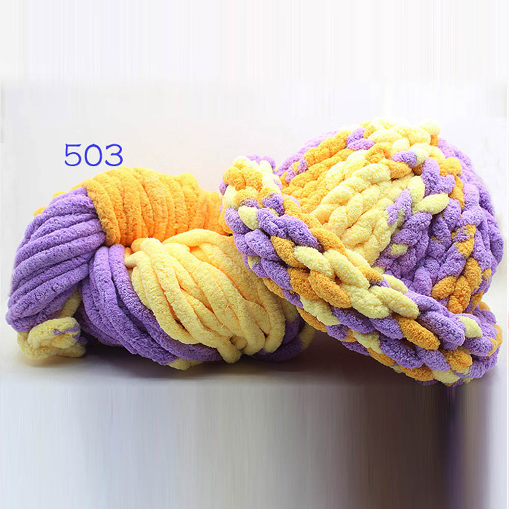 Fresh Crochet Knitting Yarn Ice Line Thick Thread Scarf Shoes Hand Crochet Yarn Of Delightful 43 Models Hand Crochet Yarn