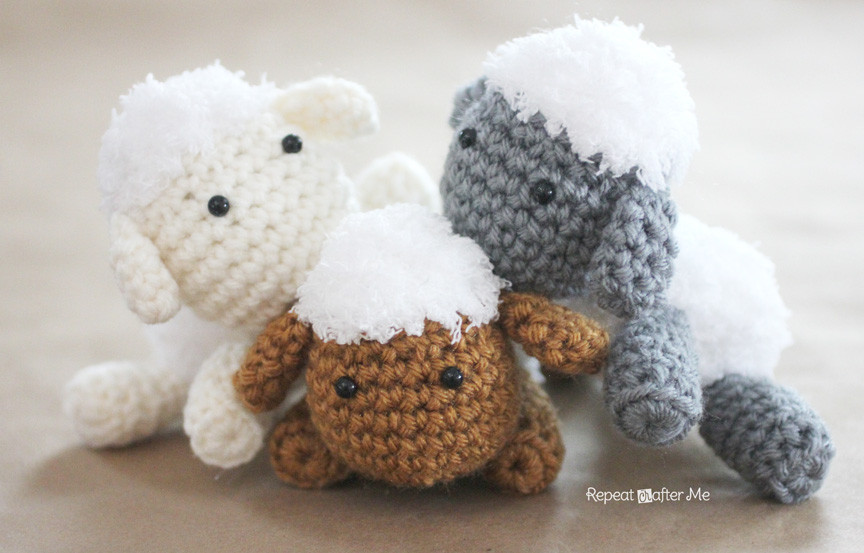 Fresh Crochet Lamb Pattern and Baby Mobile Repeat Crafter Me Crochet Lamb Pattern Of Great 42 Pics Crochet Lamb Pattern