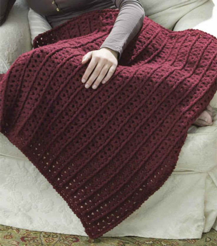 Crochet Lap Throw CROCHET PROJECTS