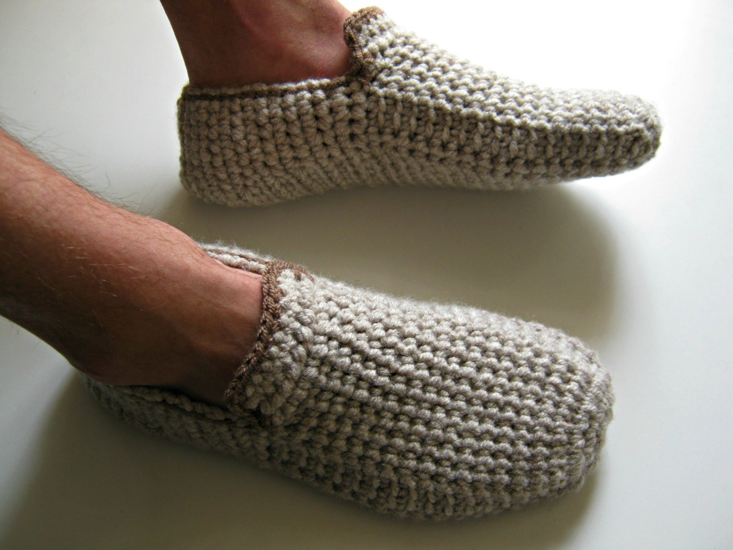 Beautiful 382 Best Crochet Slippers Images On Pinterest Mens Crochet