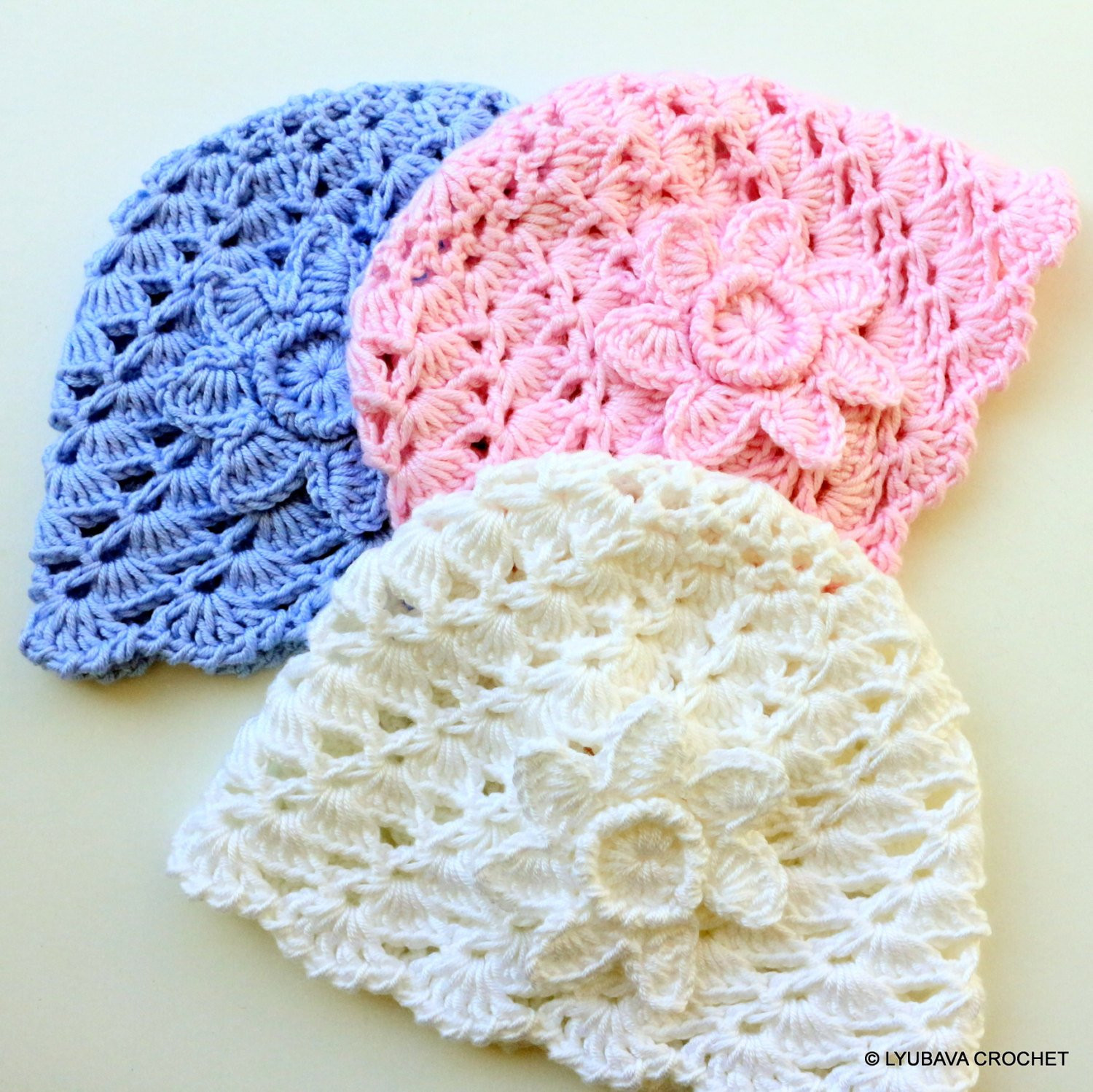 Fresh Crochet Pattern Baby Hat with Flower Baby Shower Diy Crochet Flower for Baby Hat Of Beautiful 42 Ideas Crochet Flower for Baby Hat