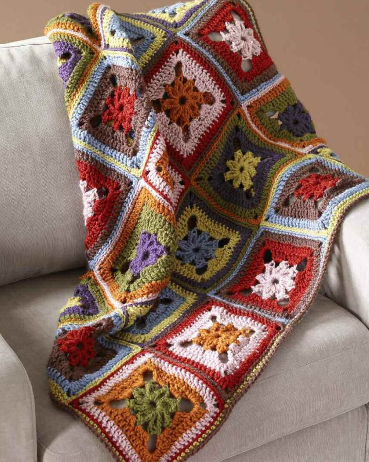 Fresh Crochet Pattern Colourful Autumnal Afghan Throw All Free Crochet Afghan Patterns Of New 48 Pics All Free Crochet Afghan Patterns