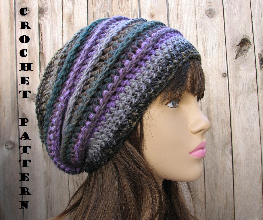 Fresh Crochet Pattern Crochet Hat Slouchy Hat Crochet Simple Crochet Beanie Of Amazing 46 Ideas Simple Crochet Beanie