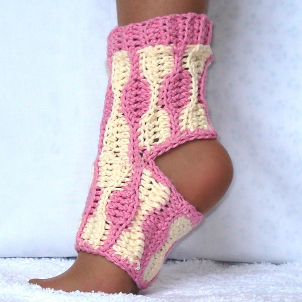 Crochet Patterns Free Yoga Socks Dancox for