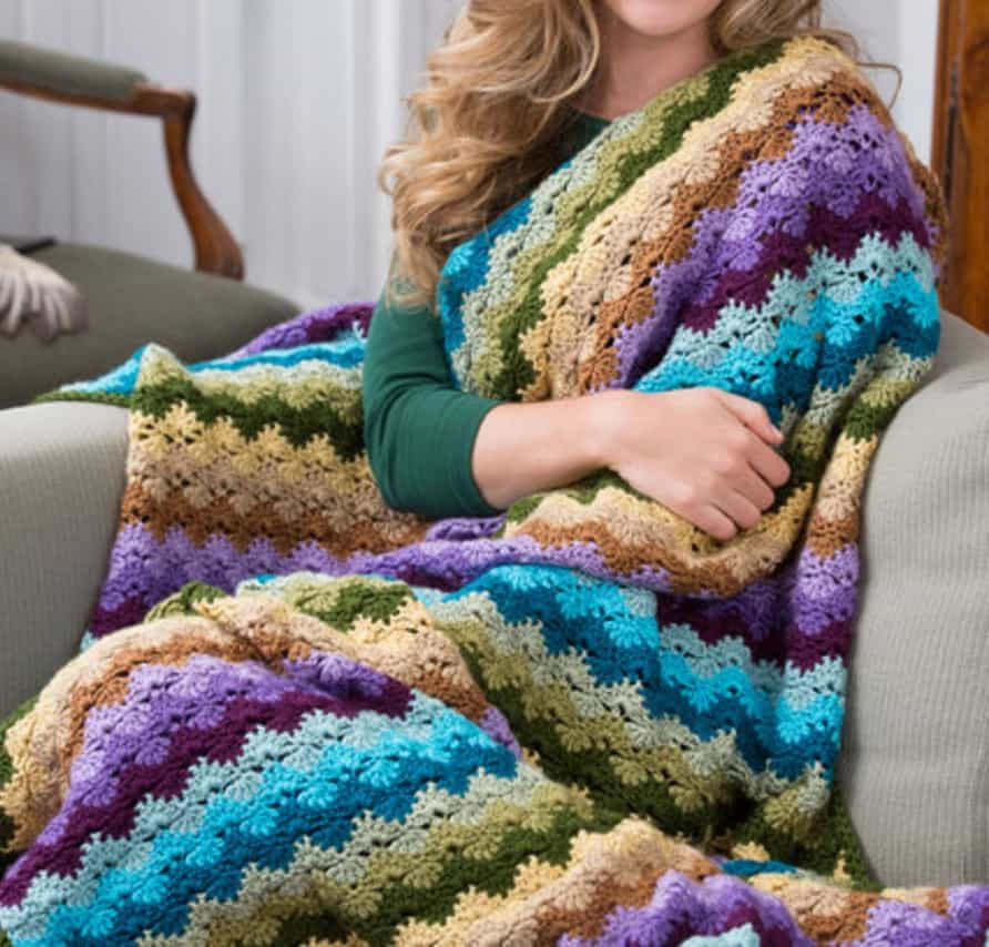 Fresh Crochet Shell Stitch Tutorial Lots Patterns Crochet Shell Blanket Of Lovely 40 Pictures Crochet Shell Blanket