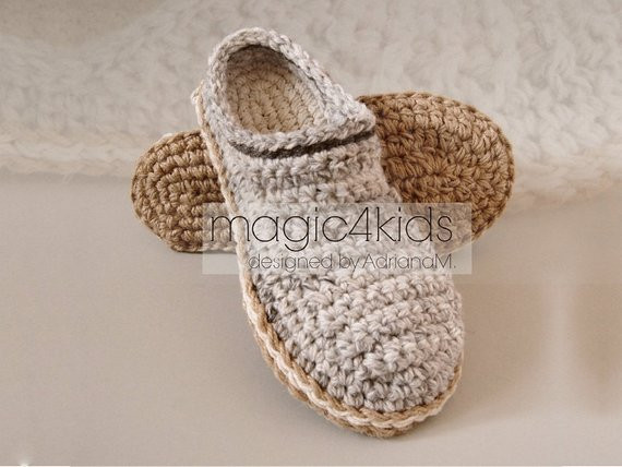 Fresh Crochet Slippers Pattern Men Loafers with Rope by Magic4kids Mens Crochet Slippers Of Contemporary 46 Images Mens Crochet Slippers