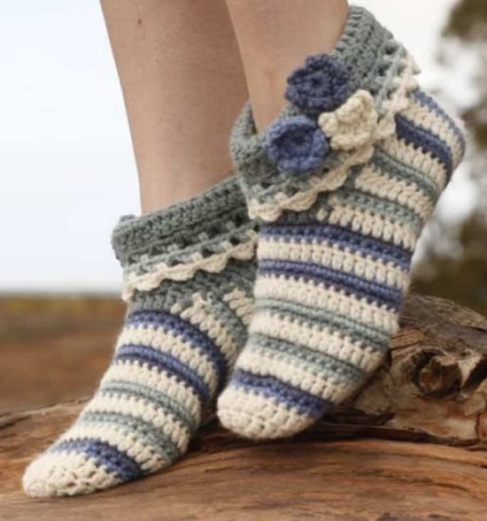 Fresh Crochet Slippers the Best Collection Crochet Adult Slippers Of Charming 47 Ideas Crochet Adult Slippers