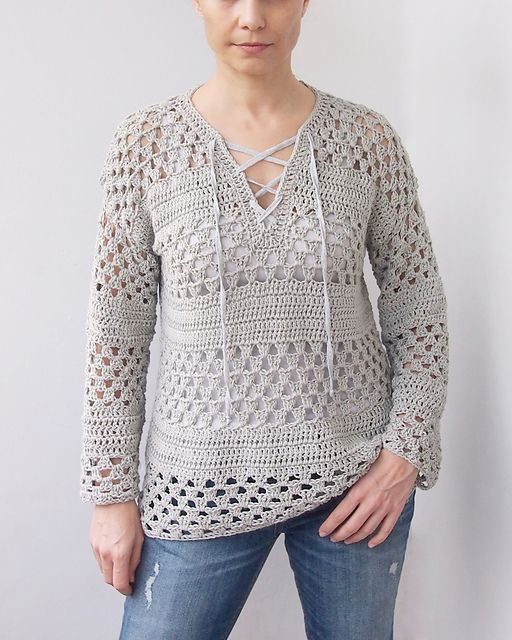 Fresh Crochet Sweater Patterns for Your Loved Ones Crochet Patterns for Women's Sweaters Of Top 48 Photos Crochet Patterns for Women\'s Sweaters