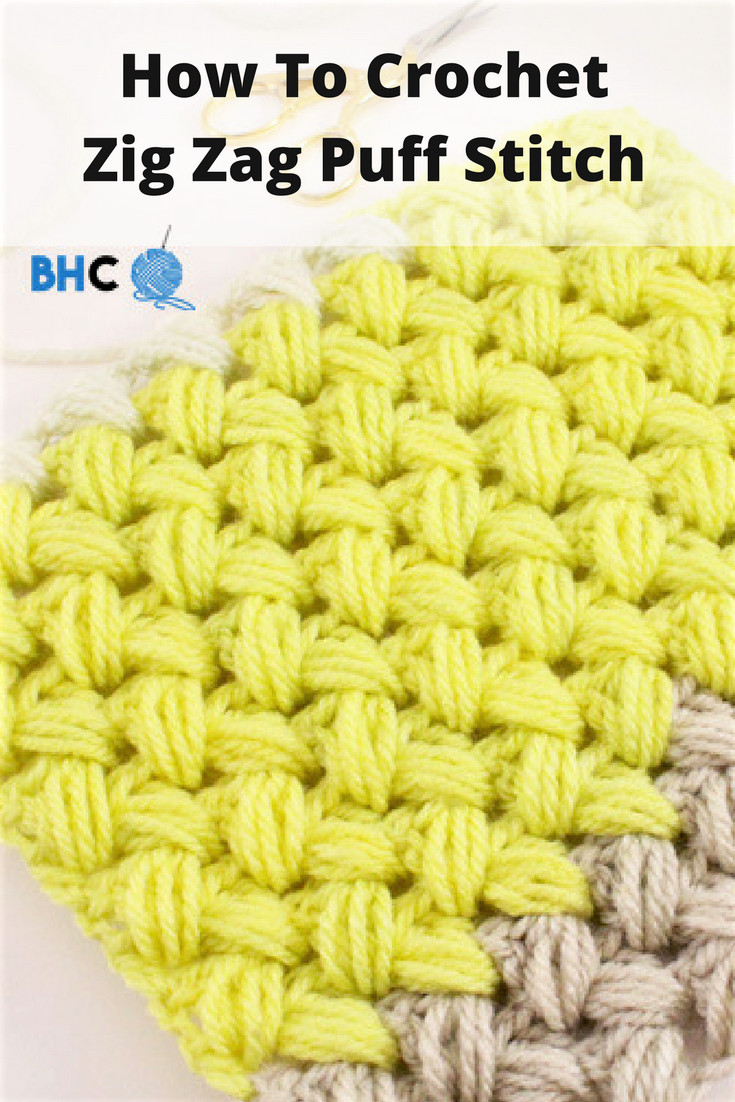 Fresh Crochet Zig Zag Puff Stitch Puff Crochet Of Great 49 Ideas Puff Crochet