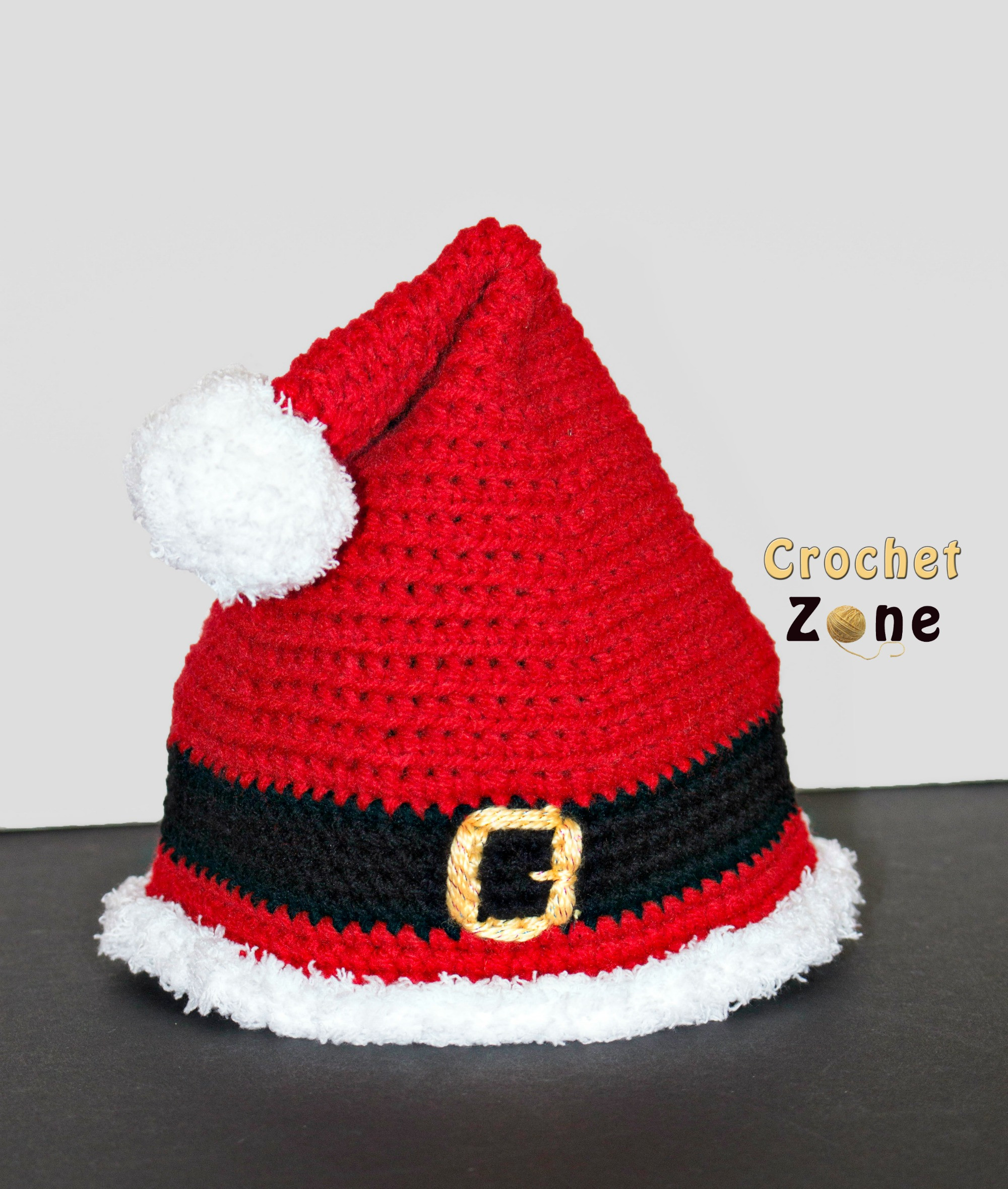 Fresh Crochet Zone All Things Crochet Santa Hat Pattern Of Best Of Crochet Santa Hat Santa Hat Pattern