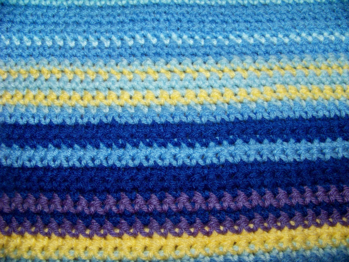 Fresh Crocheted Temperature Blanket – Stitching In the Woods Single Crochet Blanket Of Adorable 47 Photos Single Crochet Blanket