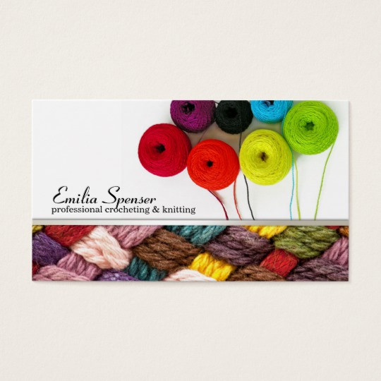 Fresh Crocheting & Knitting Colorful Business Card Crochet Business Cards Of Superb 40 Photos Crochet Business Cards