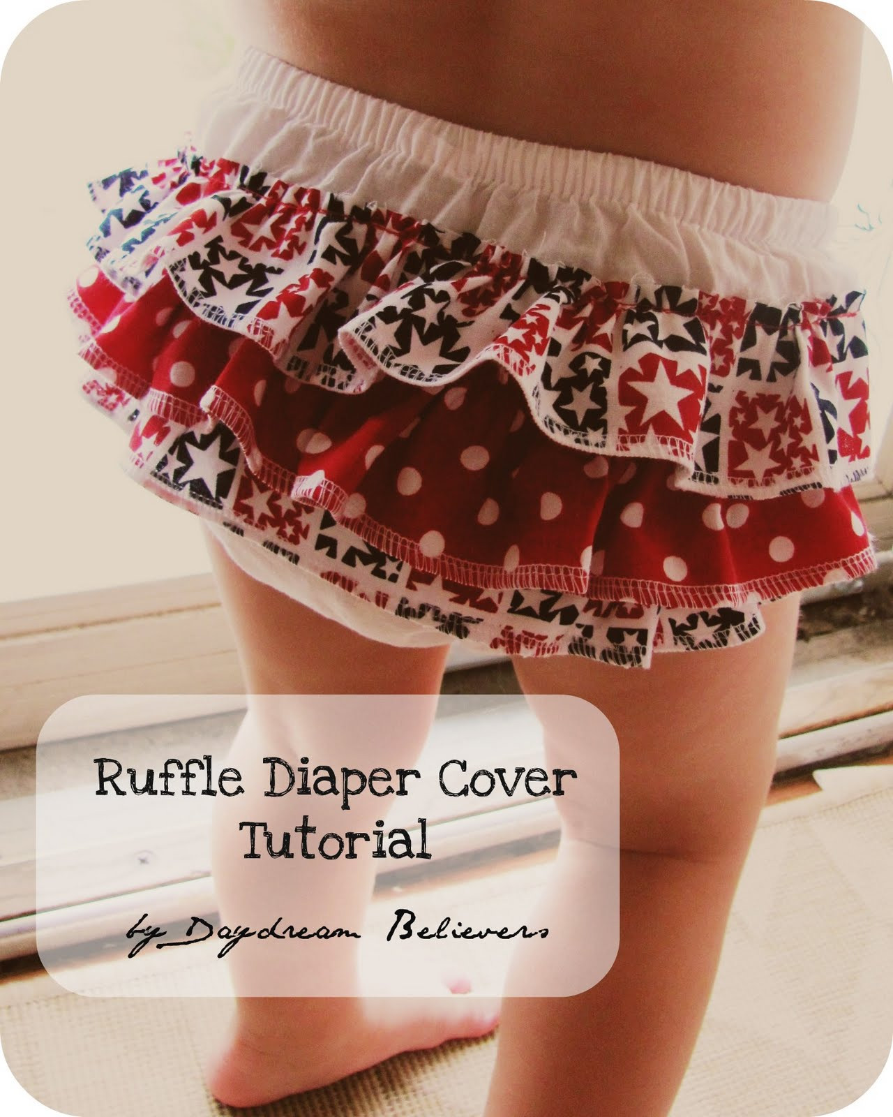 Fresh Daydream Believers Tutorial Make A Ruffle Bloomer Diaper Cover Pattern Of Beautiful 42 Models Diaper Cover Pattern