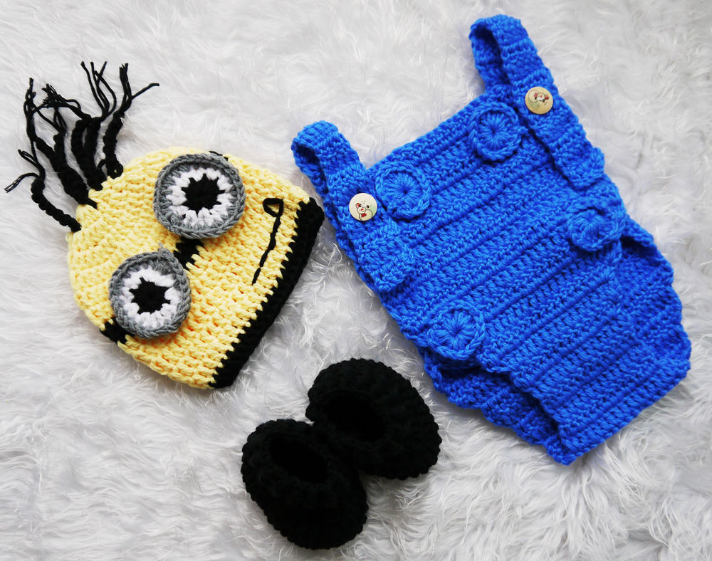 Fresh Despicable Me Monster Infant Knitted Crochet Costume Crochet Baby Costumes Of Incredible 41 Models Crochet Baby Costumes