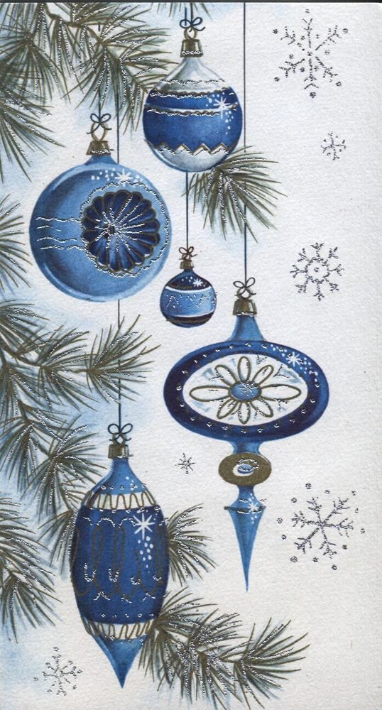 Fresh Details About Vintage Christmas Card Old Fashioned Old Fashioned ornaments Of Attractive 42 Ideas Old Fashioned ornaments
