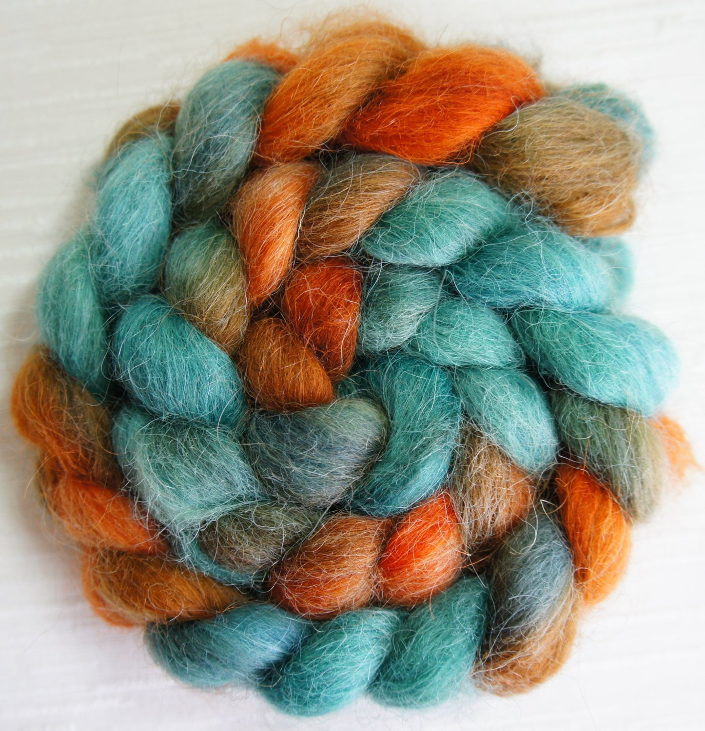 Fresh Devon top Wool Roving Handpainted Roving Fiber for Spinning Wool Roving Yarn Of Awesome 40 Pictures Wool Roving Yarn