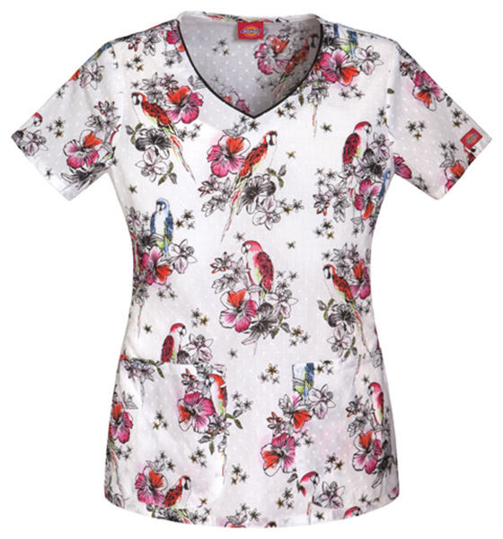 Fresh Dickies Printed Nursing Scrub V Neck Wel E to Paradise Cotton Scrubs Of Attractive 47 Models Cotton Scrubs