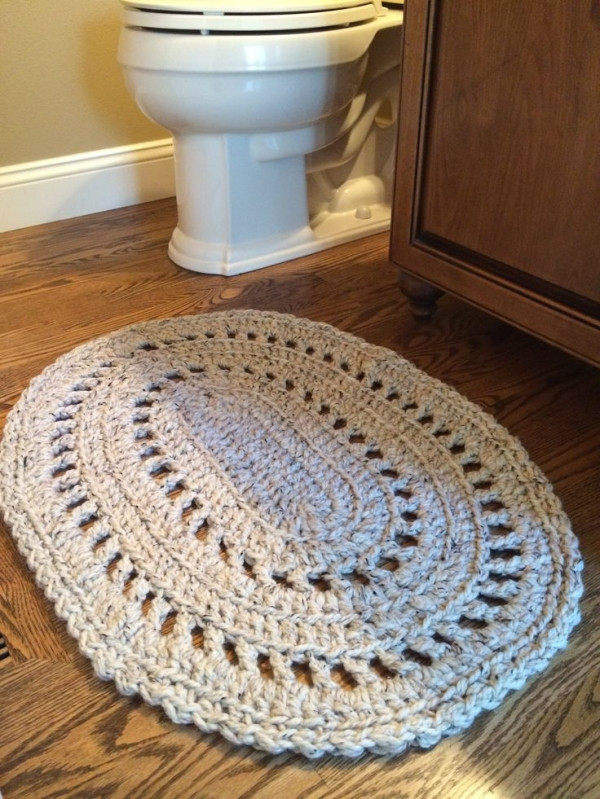 Fresh Diy Bathroom Rugs A Bud Picture Instructions Crochet Bath Rugs Of Contemporary 44 Pictures Crochet Bath Rugs
