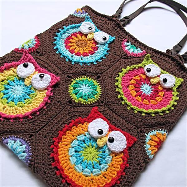 Fresh Diy Crochet Owl tote Pattern Crochet Owl Basket Of Brilliant 47 Photos Crochet Owl Basket
