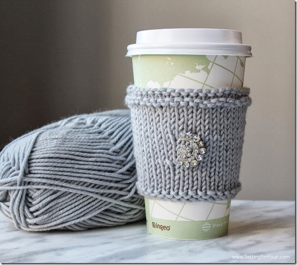 Fresh Diy Extra soft Knitted Cup Cozy Great Gift Idea Knitted Mug Cozy Of Unique 48 Photos Knitted Mug Cozy
