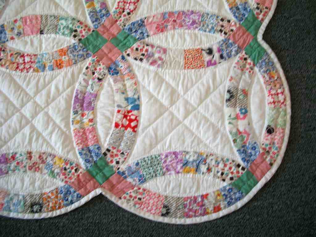 Fresh Double Wedding Ring Quilt Traditional Gift Idea Wedding Wedding Ring Quilt Pattern Of New John Flynn's Double Wedding Ring Class Wedding Ring Quilt Pattern