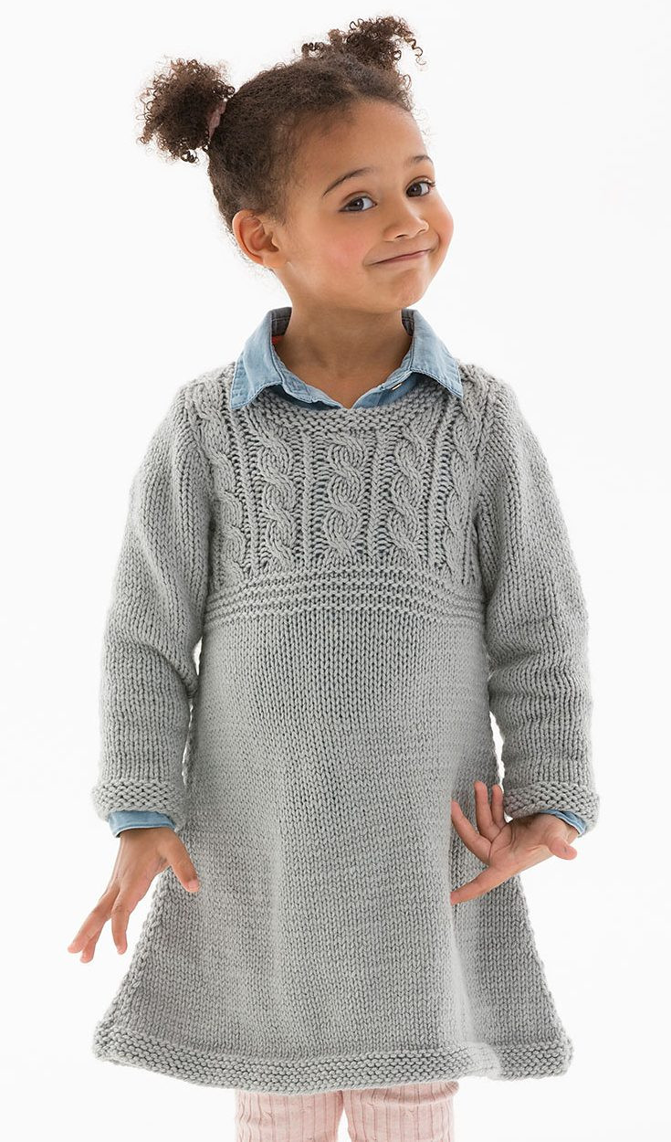 Fresh Dresses and Skirts for Children Knitting Patterns Knitting Patterns for Childrens Sweaters Of Charming 47 Models Knitting Patterns for Childrens Sweaters