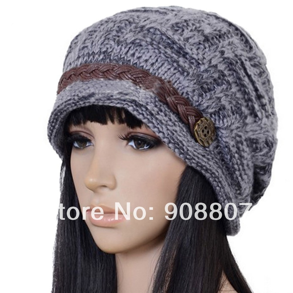 Fresh Etang Free Shipping Slouchy Cabled Pattern Knit Beanie Free Crochet Slouchy Hat Patterns Of Amazing 50 Pictures Free Crochet Slouchy Hat Patterns