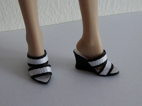 Fresh Fashion Doll Shoes Wedge soles for Barbie and Fashion Royalty Doll Shoes Pattern Of Lovely 46 Pictures Doll Shoes Pattern