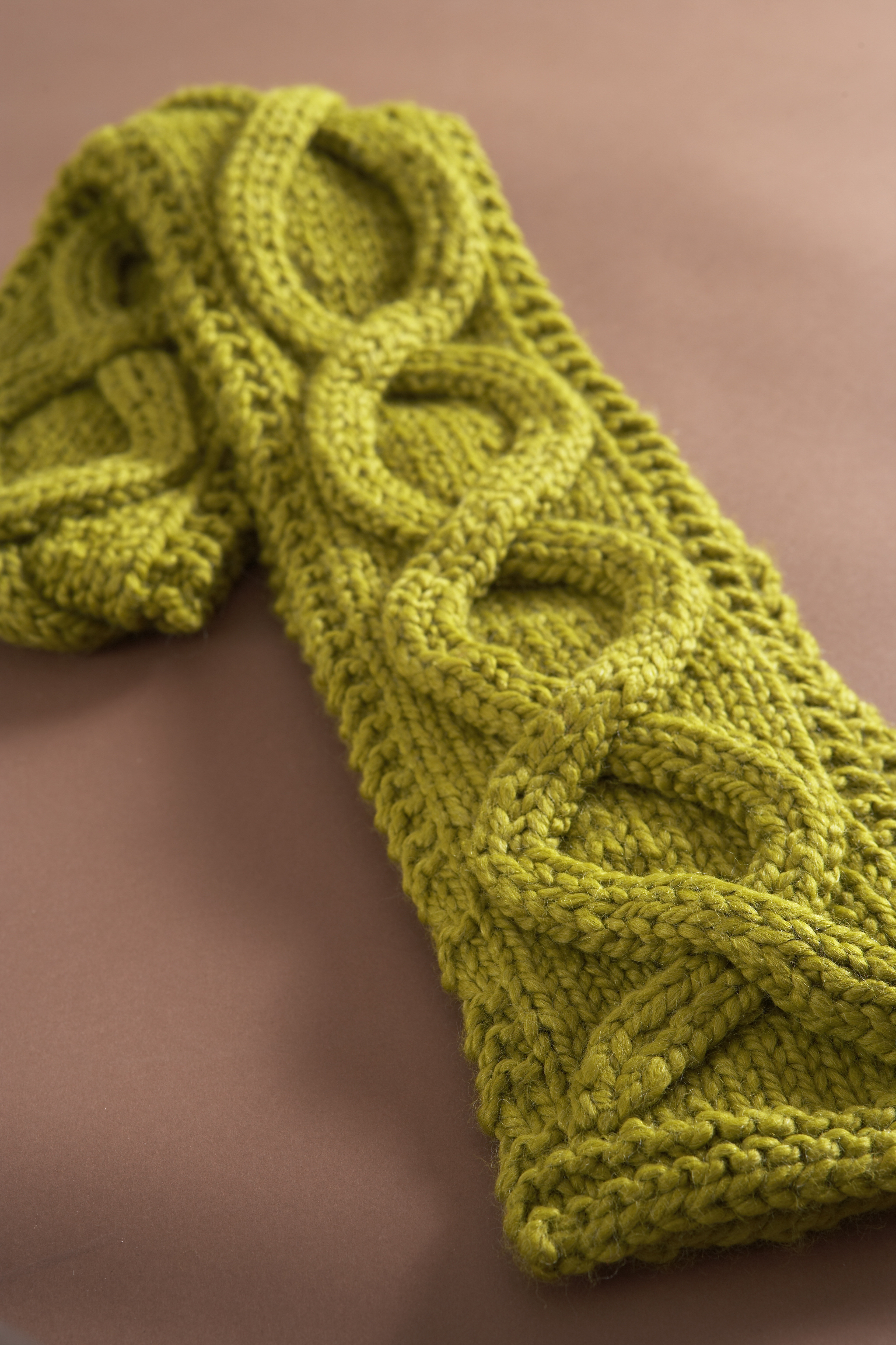 Fresh Faux Cable Scarf In Lion Brand Wool Ease Thick & Quick Cable Scarf Pattern Of Attractive 46 Pics Cable Scarf Pattern