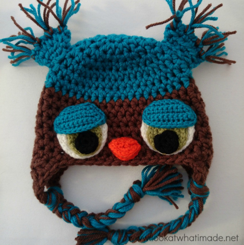 Fresh Featured Pattern Naoh Crochet Owl Hat ⋆ Look at What I Made Crochet Owl Hat Of Marvelous 48 Images Crochet Owl Hat