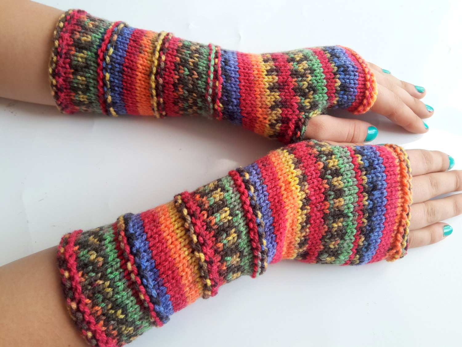 Fresh Fingerless Gloves Hand Knit Arm Warmers by Selanestore On Etsy Knit Arm Warmers Of Brilliant 41 Images Knit Arm Warmers