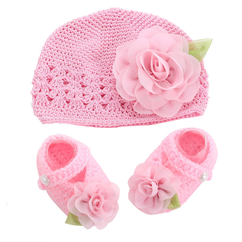 Fresh Flower Girls Baby Shoes Hat Crochet Photography Props Set Crochet Baby Girl Shoes Of Amazing 43 Images Crochet Baby Girl Shoes