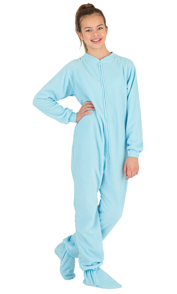 Fresh Footed Pajamas Baby Blue Kids Fleece Baby Pajamas with Feet Of Delightful 40 Photos Baby Pajamas with Feet