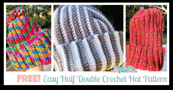 Fresh Free and Easy Half Double Crochet Hat Pattern and Link Double Crochet Hat Of Great 43 Models Double Crochet Hat
