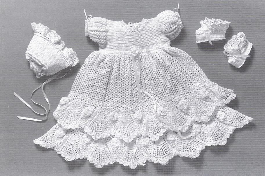 Fresh Free Crochet Christening Gown Patterns Crochet and Baptism Gown Pattern Of Fresh 43 Ideas Baptism Gown Pattern
