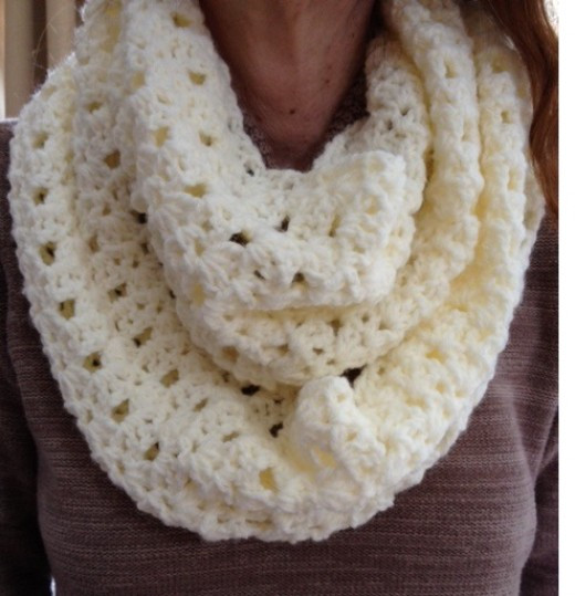 Free Crochet Infinity Scarf Patterns