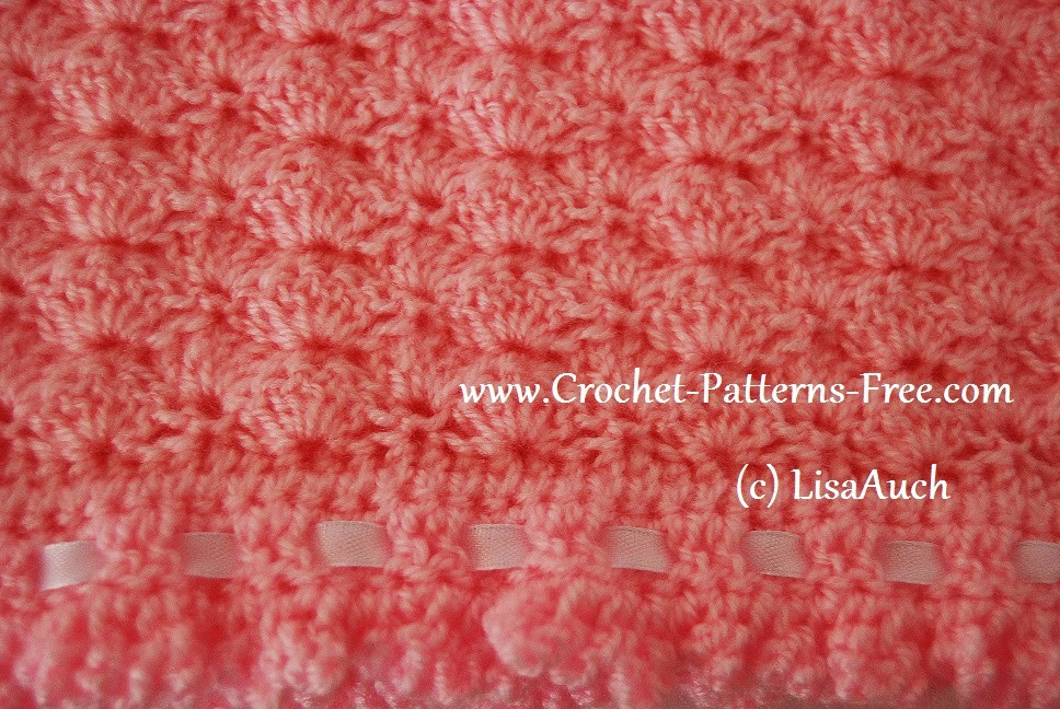 Fresh Free Crochet Patterns and Designs by Lisaauch Free Shell Pattern Crochet Baby Blanket Of Beautiful 41 Pics Shell Pattern Crochet Baby Blanket