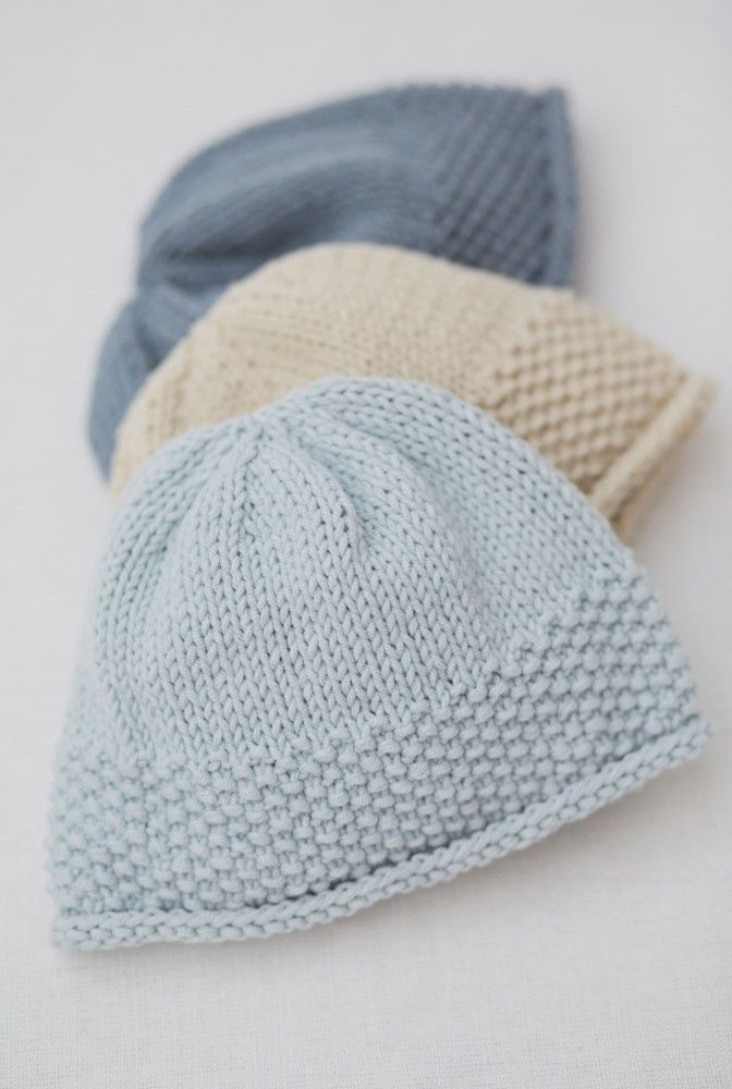 Fresh Free Easy Knitting Patterns for Beginners Hats Knitted Baby Beanies Of Charming 44 Models Knitted Baby Beanies