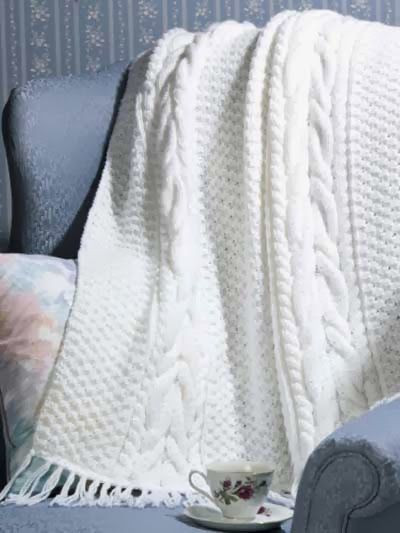 Fresh Free Knit Pattern Horseshoe Cable Afghan Crochet Cable Blanket Of Lovely 46 Models Crochet Cable Blanket