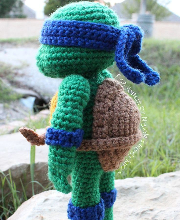 Fresh Free Ninja Turtles Amigurumi Pattern Crochet Turtle Of Innovative 48 Images Crochet Turtle